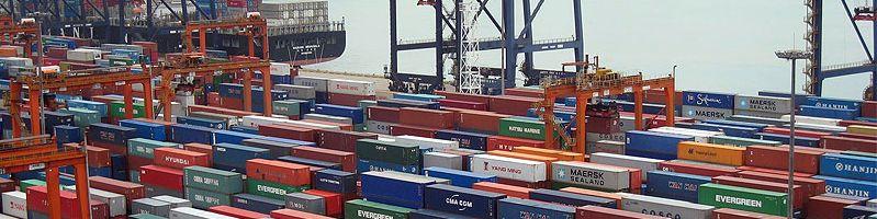 Containerhafen Banner