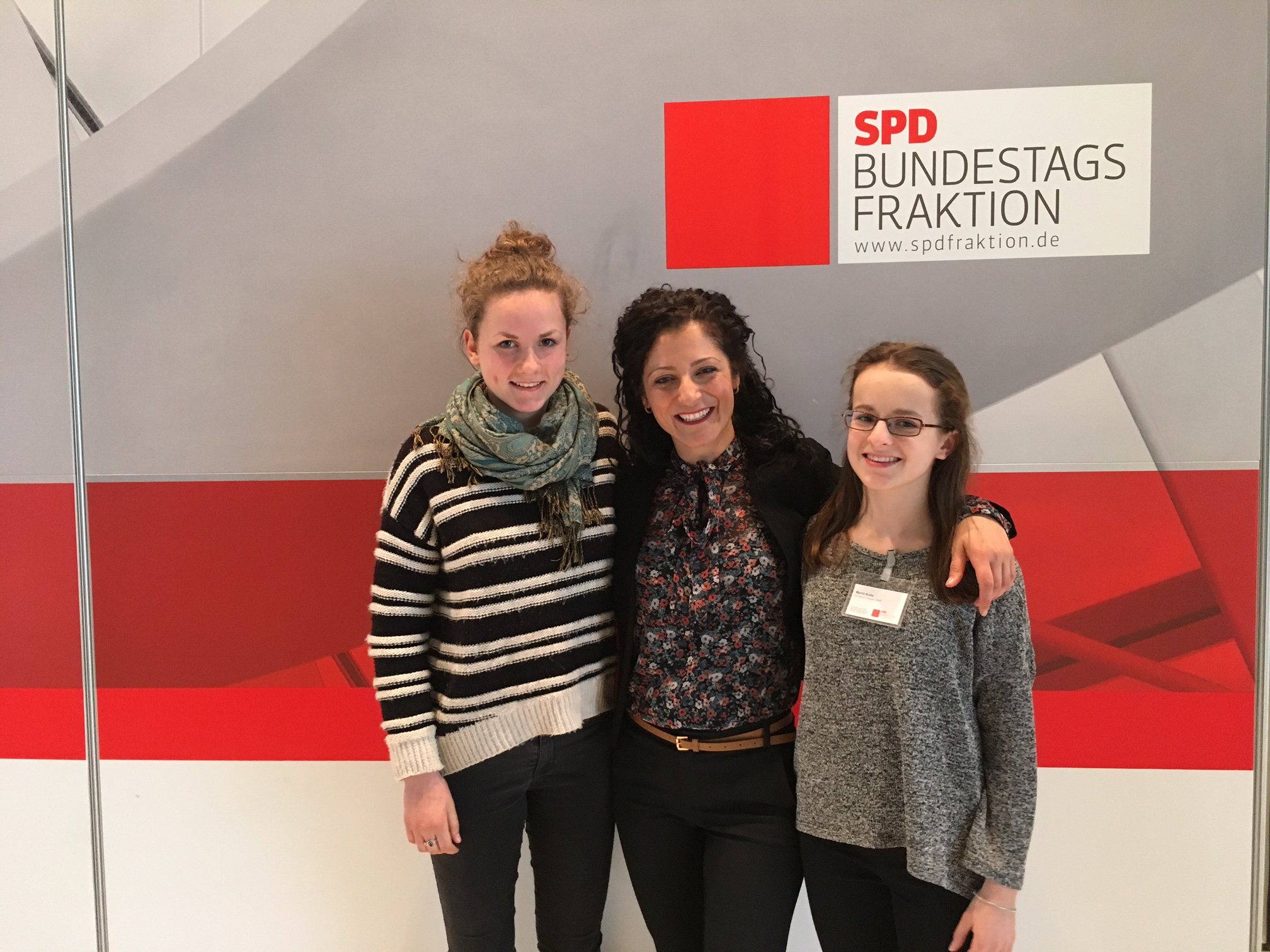 Girls´ Day in der SPD-Bundestagsfraktion 2017