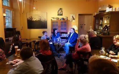 Öffentliches Redaktionsgespräch mit Kiez und Kneipe