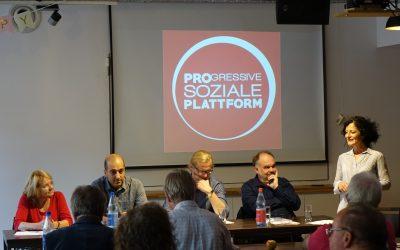 """""""Bezahlbares Wohnen als Grundrecht?"""" – Veranstaltung der Deutschland-Tour der Progressiven Soziale Plattform!"""