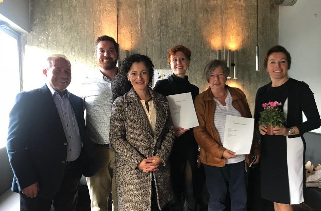 Kooperationsvereinbarung Neues Kreuzberger Zentrum setzt Maßstäbe