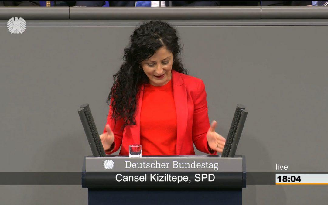 Bundestagsrede zur steuerlichen Förderung des Mietwohnungsneubaus