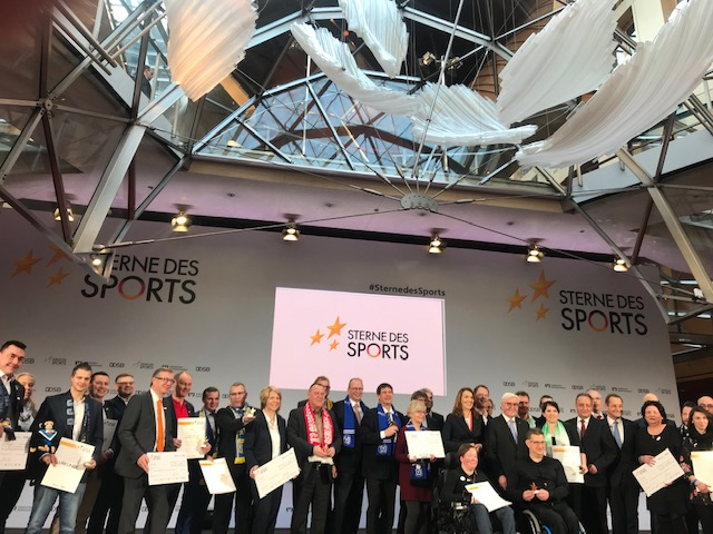 Preisverleihung Sterne des Sports