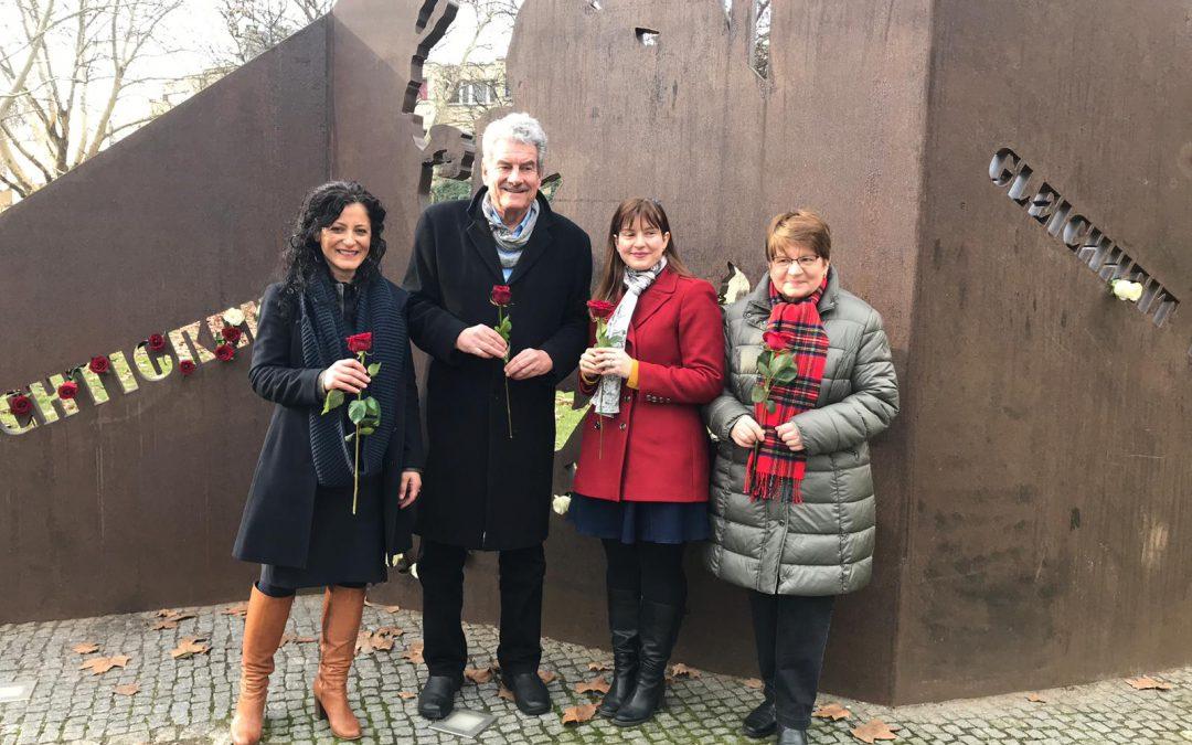 Rede zum Andenken an 100 Jahre Reden von Frauen in Deutschen Parlamenten