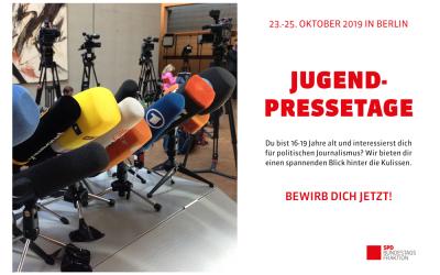 Jugendpressetage in Berlin!
