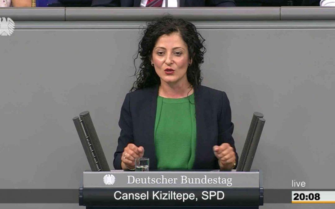 Bundestagsrede zu Anträgen der Linken und der Grünen gegen Geldwäsche im Immobiliensektor