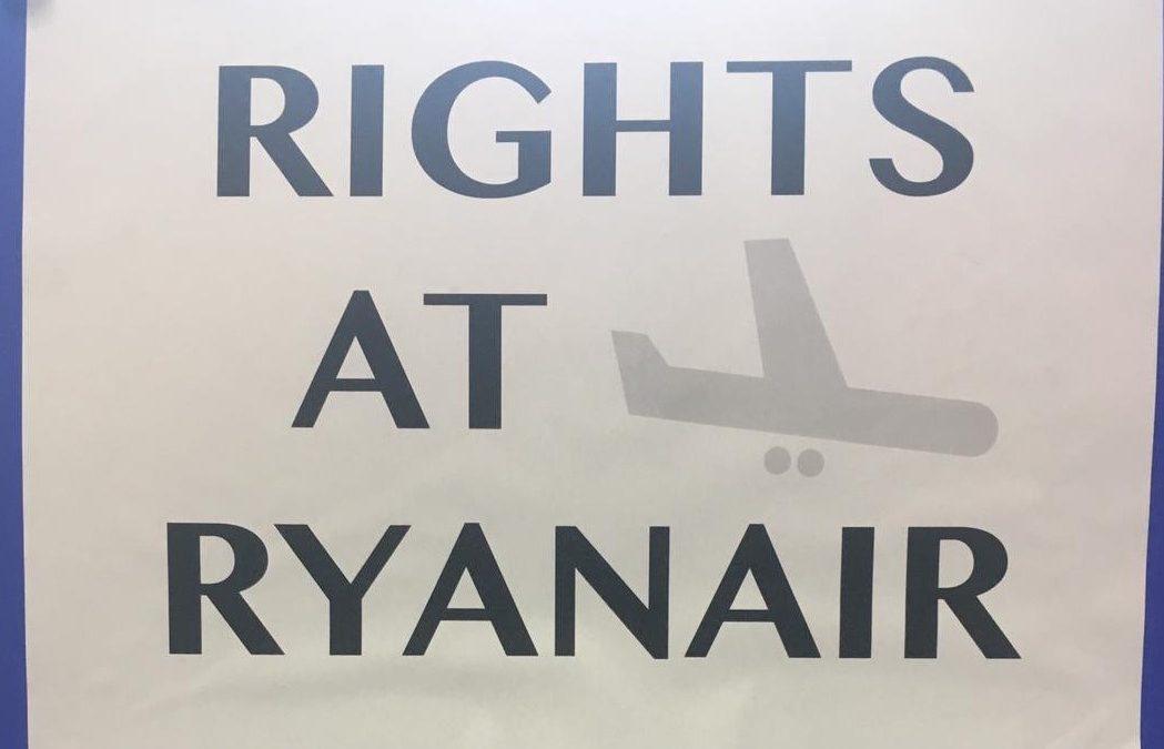 Ryanair-Beschäftigte brauchen einen starken Betriebsrat!