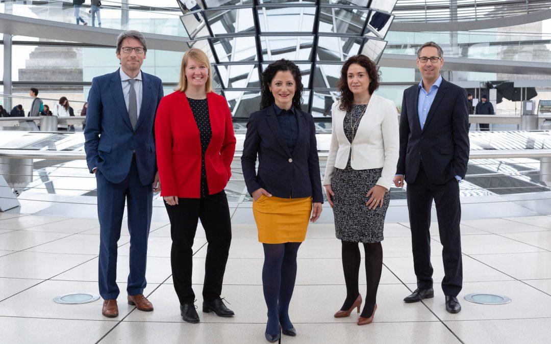 Die Autorinnen und Autoren (von links nach rechts): Swen Schulz, Wiebke Esdar, Cansel Kiziltepe, Sarah Ryglewski, Michael Schrodi