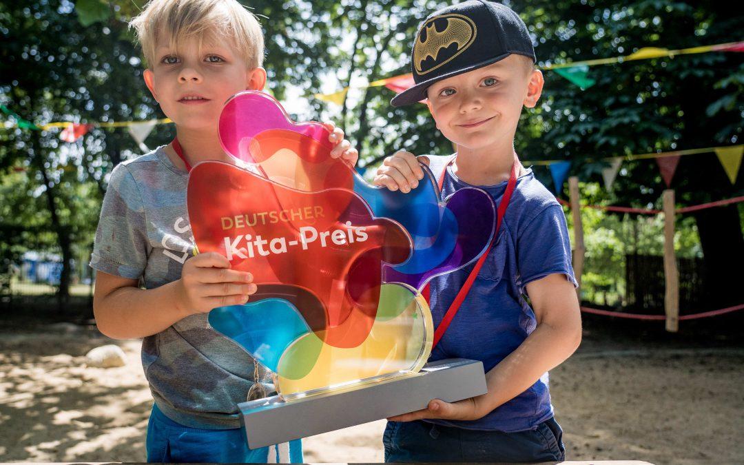 Jetzt bewerben für den Deutschen Kita Preis 2020!