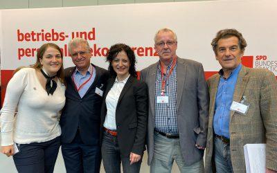 Arbeitnehmer*innenrechte ohne Hintertür: 300 Betriebs- und Personalräte zu Gast in Berlin