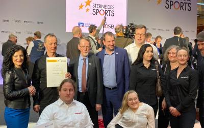 Sterne des Sports – Inklusionsverein Pfeffersport e.V. aus dem Prenzlauer Berg gewinnt Stern des Sports in Gold