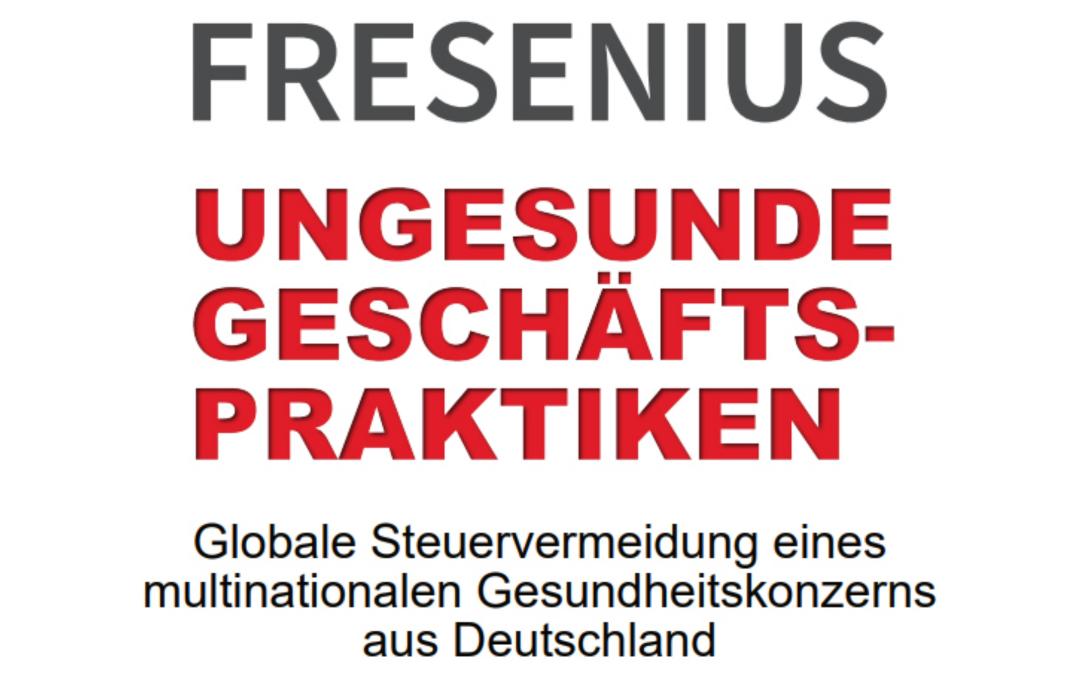 Fresenius Fall: Gewinnverschiebung muss ein Ende haben!