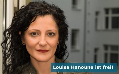 Louisa Hanoune ist frei!