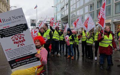 Solidarität mit den Streikenden in der Systemgastronomie – 12 Euro mindestens!