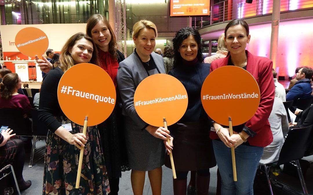 Frauentag 2020 – Kämpfen für uneingeschränkte Gleichberechtigung!