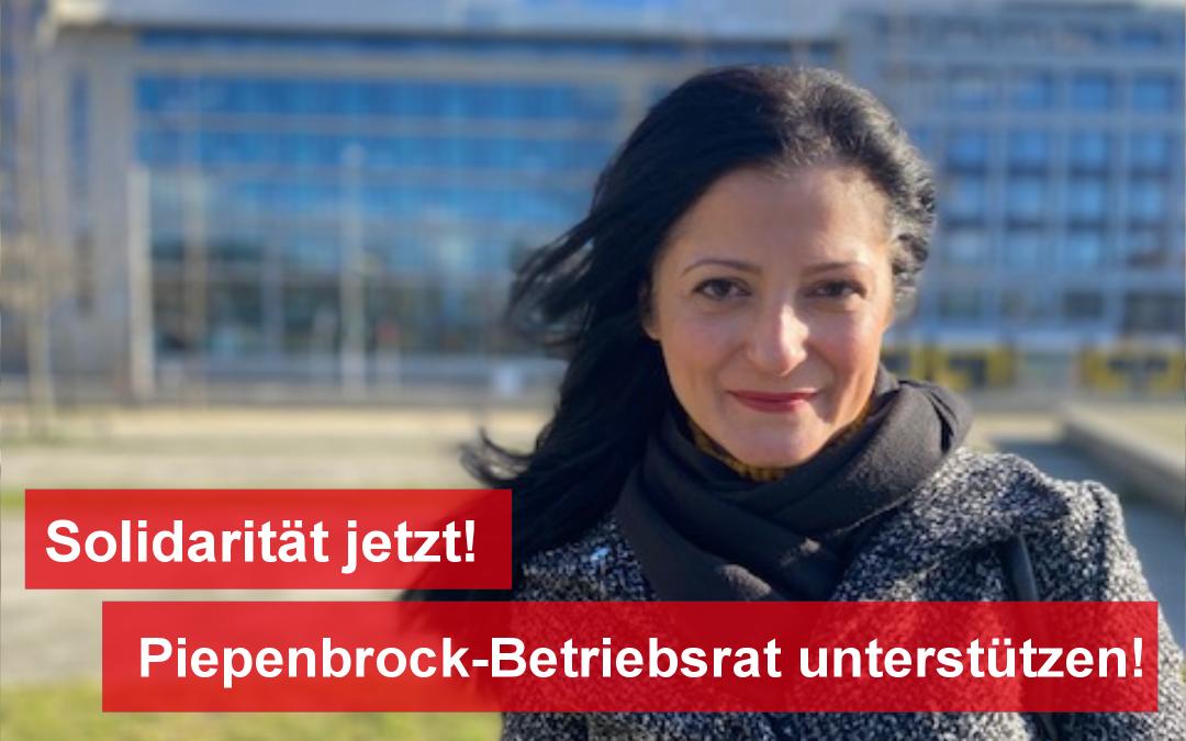 Solidarität mit dem Piepenbrock-Betriebsrat!