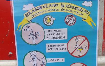 Straßenland in Kinderhand – Temporäre Spielstraßen in Zeiten der Pandemie
