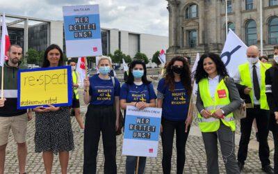 Solidarität mit den Beschäftigten im Luftverkehr!