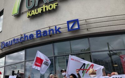 Zukunft statt Kahlschlag: Wir kämpfen um jeden Arbeitsplatz bei Galeria Karstadt Kaufhof!