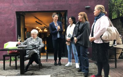 """Lesung mit Gisela Pravda und der AsF XHain: """"Frauen müssen immer die Extrameile gehen"""""""