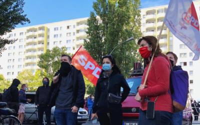 Aufstehen gegen Rassismus – Protestaktionen am 3. Oktober in Hohenschönhausen