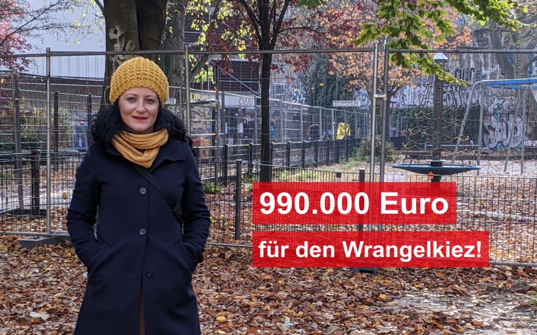 990.000 Euro für den Wrangelkiez! Stadtklimatisches und sozialräumliches Modellprojekt wird zu Gewinn für alle Anwohner*innen im Kiez!