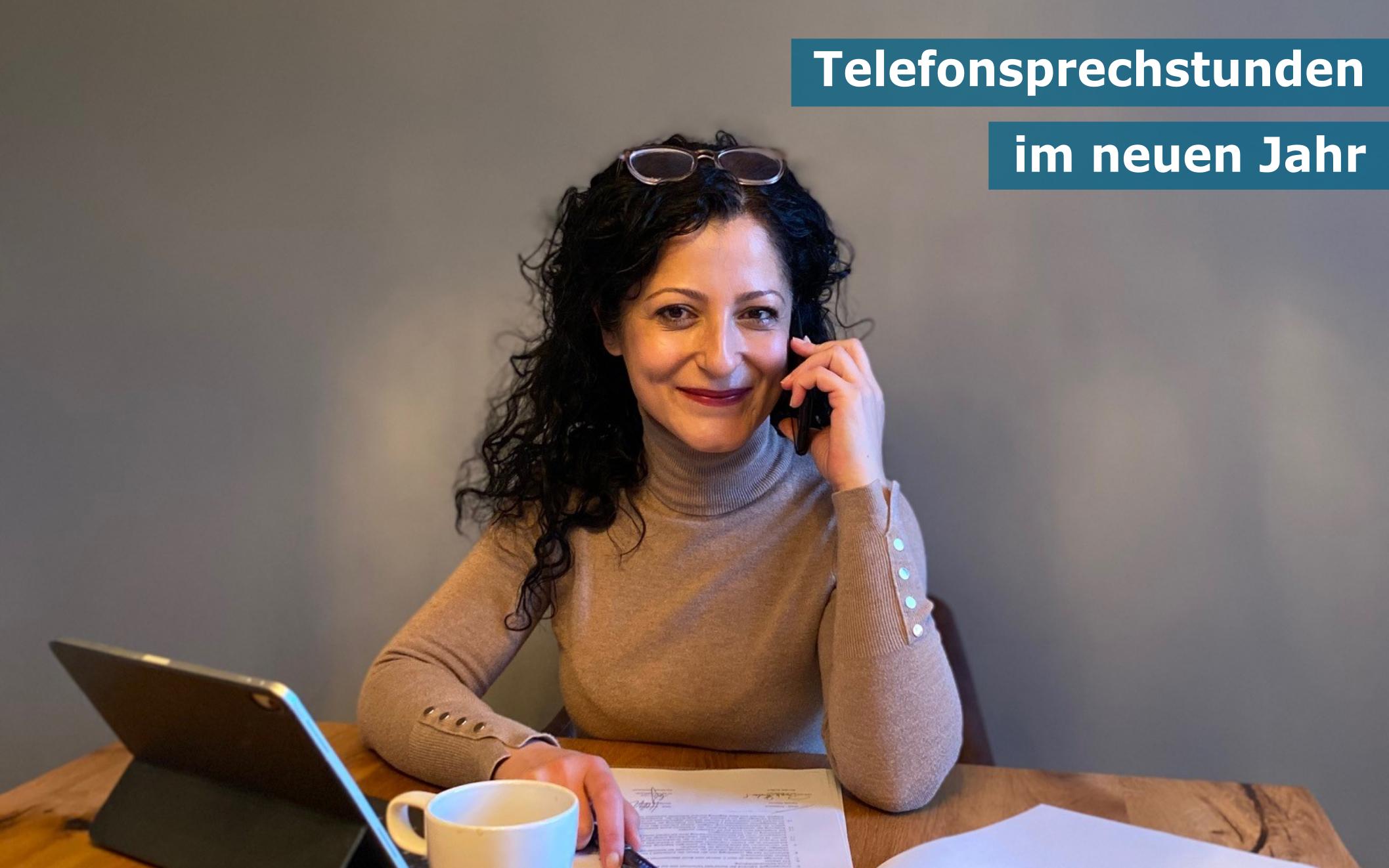 Telefonsprechstunden im neuen Jahr: Lasst uns reden!