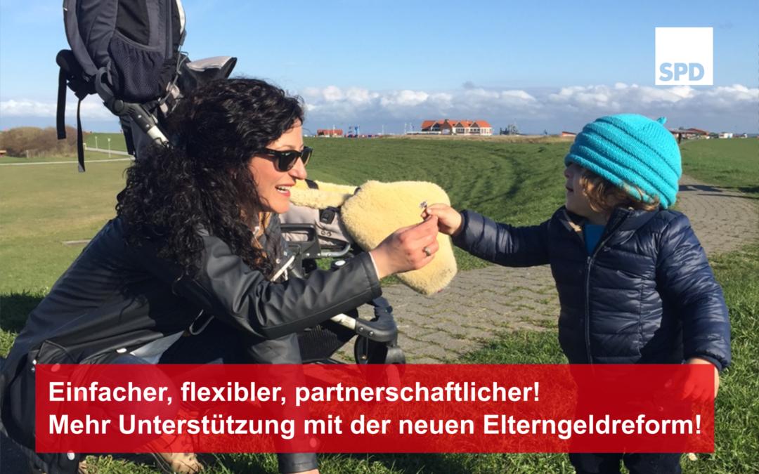 Einfach, flexibel, partnerschaftlich – Bundestag beschließt Elterngeldreform!
