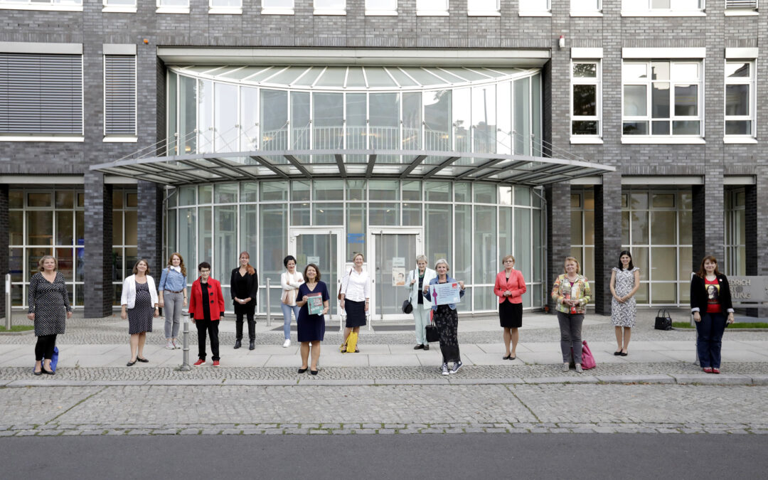 Wir kämpfen weiter für die Parität in allen Parlamenten! Treffen des Berliner Netzwerk Parität