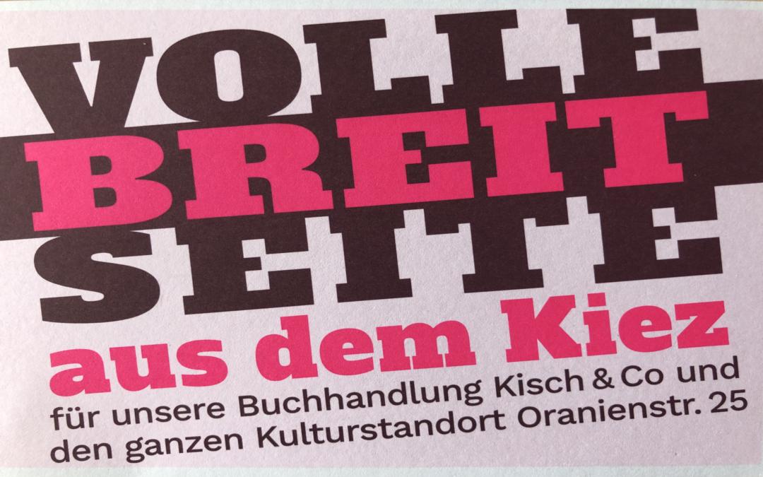 Der Kiez-Buchladen gegen die Milliardär*innen: Kisch & Co muss geräumt werden.