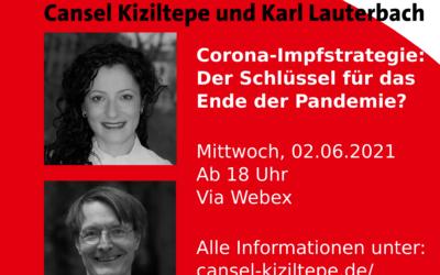 Online Dialog: Cansel Kiziltepe und Karl Lauterbach