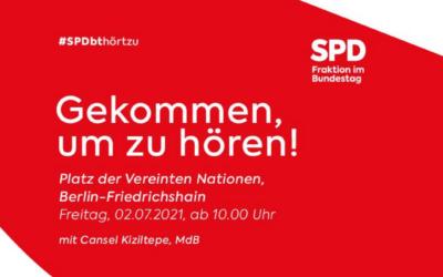 Gekommen, um zu hören – Dialogtour der SPD-Bundestagsfraktion